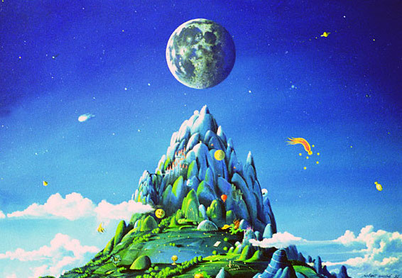 Der künstliche Berg